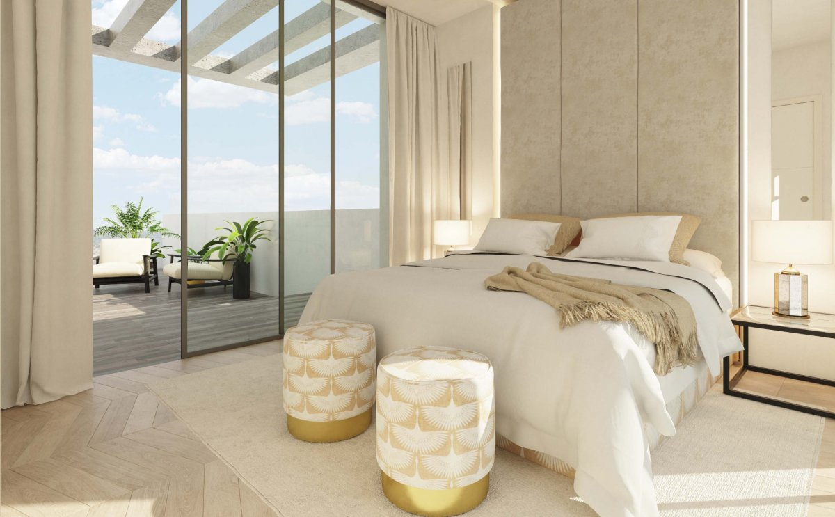 Потрясающий новый дом с видами на море и гольф поля в Кабо Пино, Марбелья