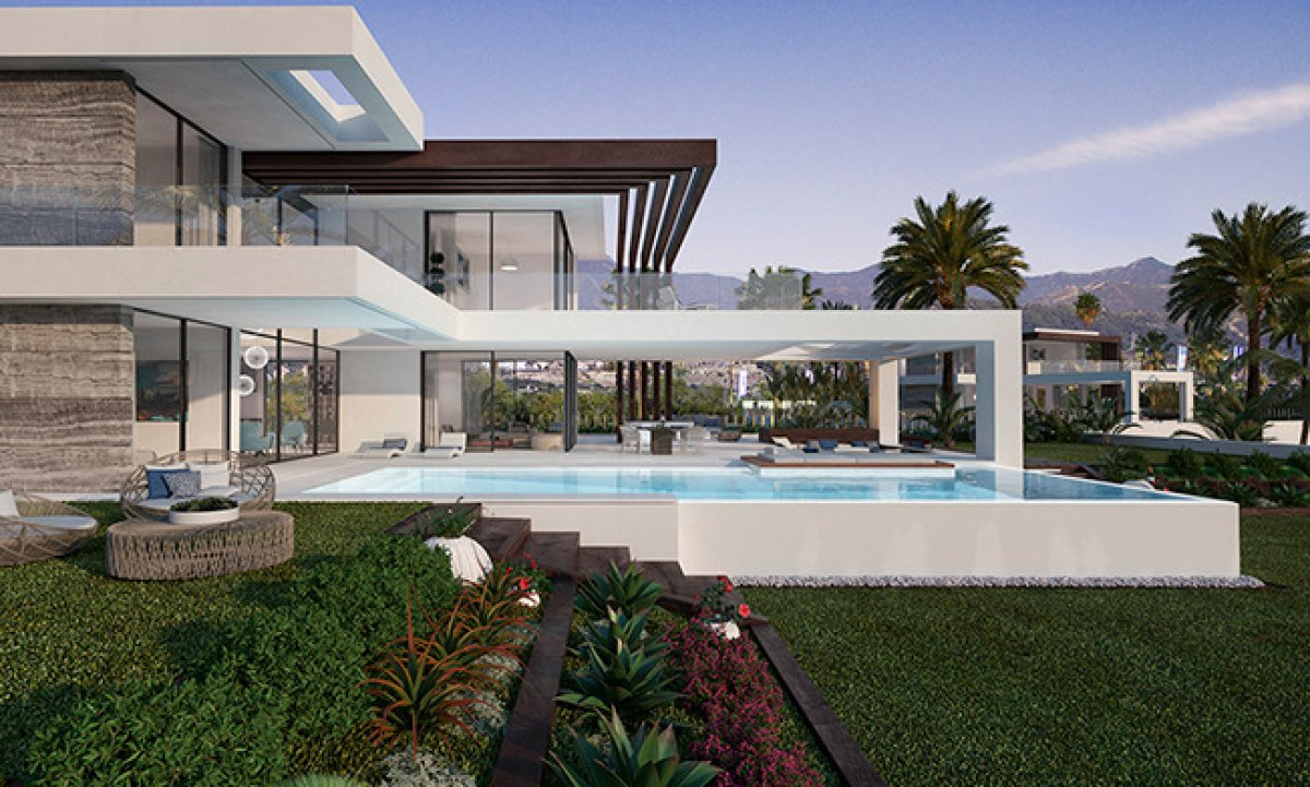 New villa with unique and contemporary design in Cancelada, Estepona