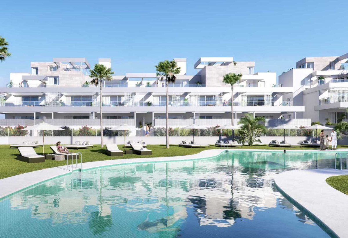 New and minimalist design penthouse in Cancelada, Estepona