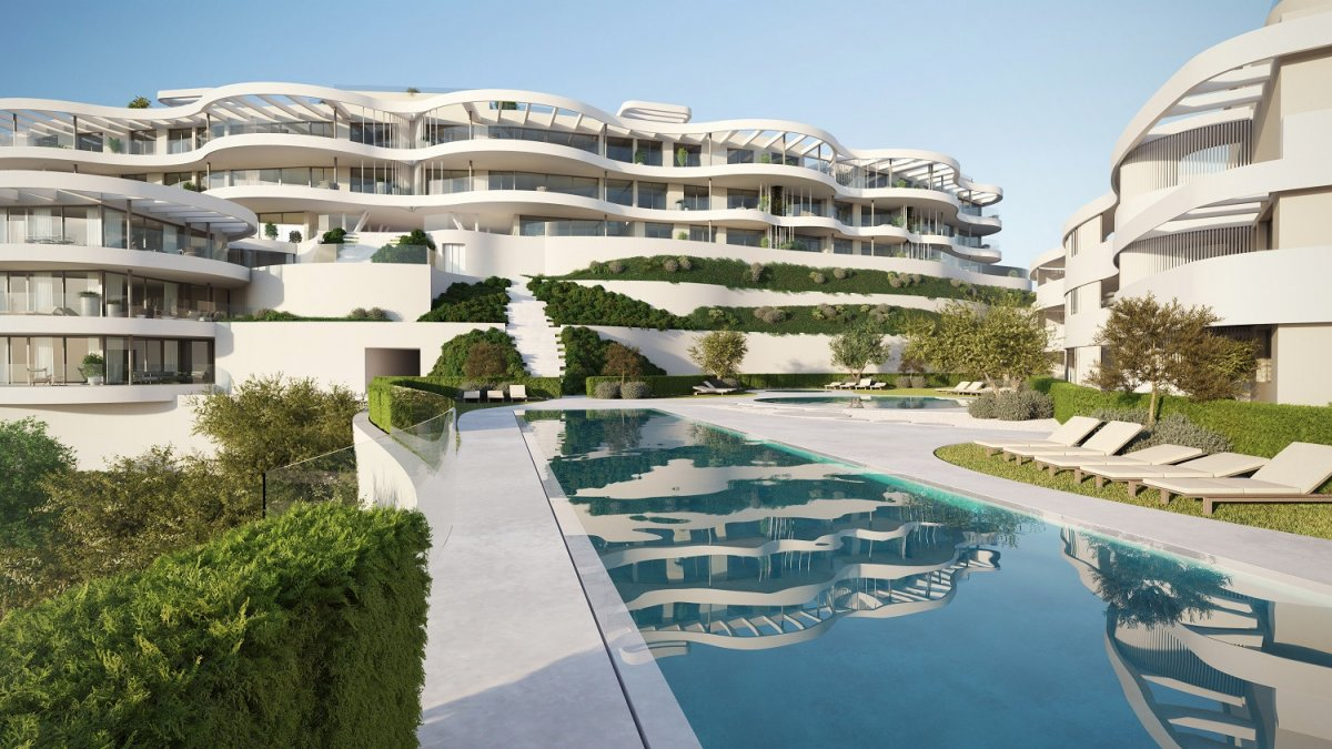 Luxury new duplex penthouse situated between Marbella and Benahavis