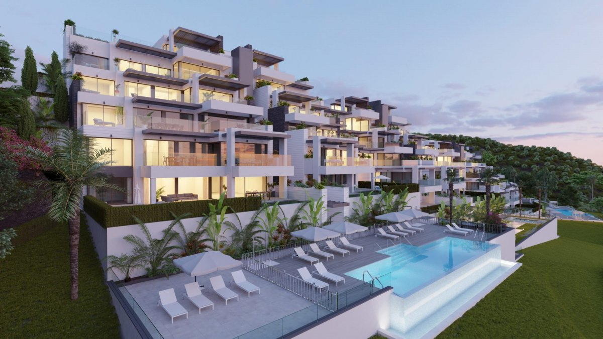 Spectacular south facing apartment in Las Colinas de Marbella, Benahavis