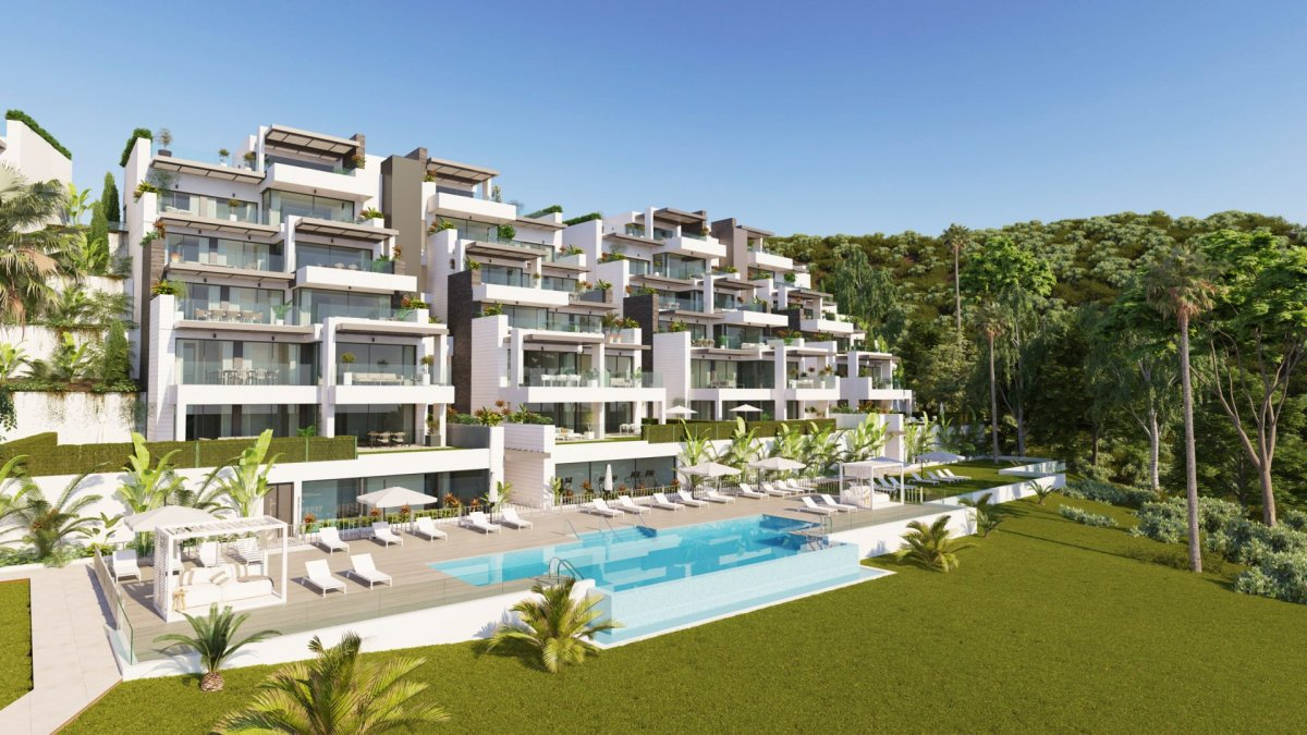Spectacular south facing penthouse in Las Colinas de Marbella, Benahavis