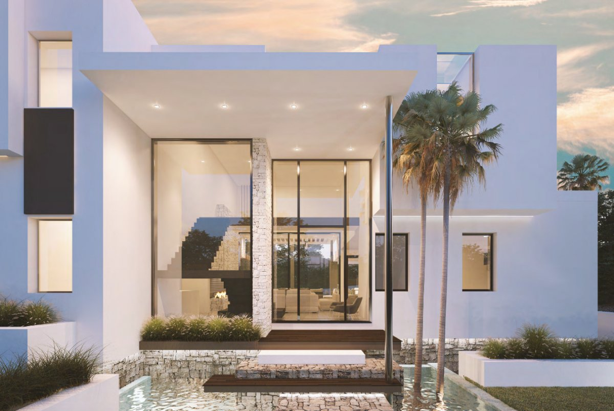 Magnificent contemporary villa in Bel Air, Estepona