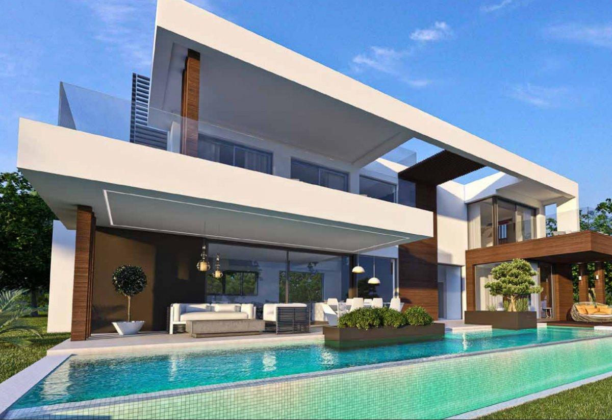 Proyecto de 13 lujosas y modernas villas en construcción in Cancelada