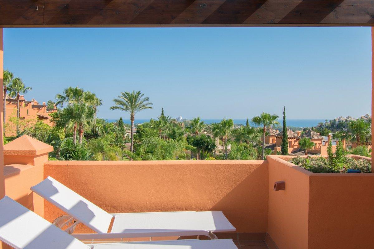 Modern sea view semi-detached houses  in Atataya Golf. El Paraiso