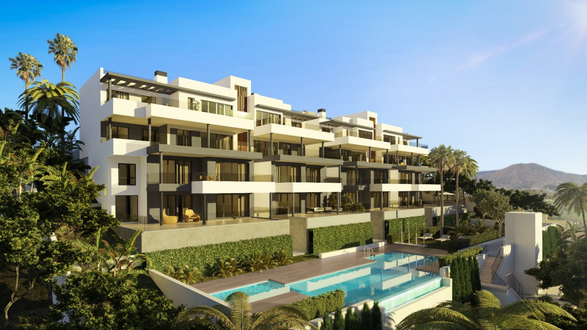 Spectacular apartment in Estepona