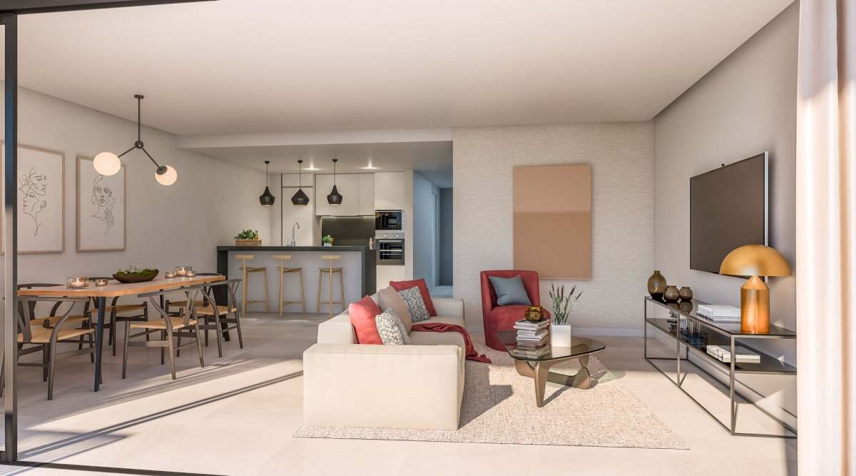 Sophisticated apartment, first line golf, Cabopino