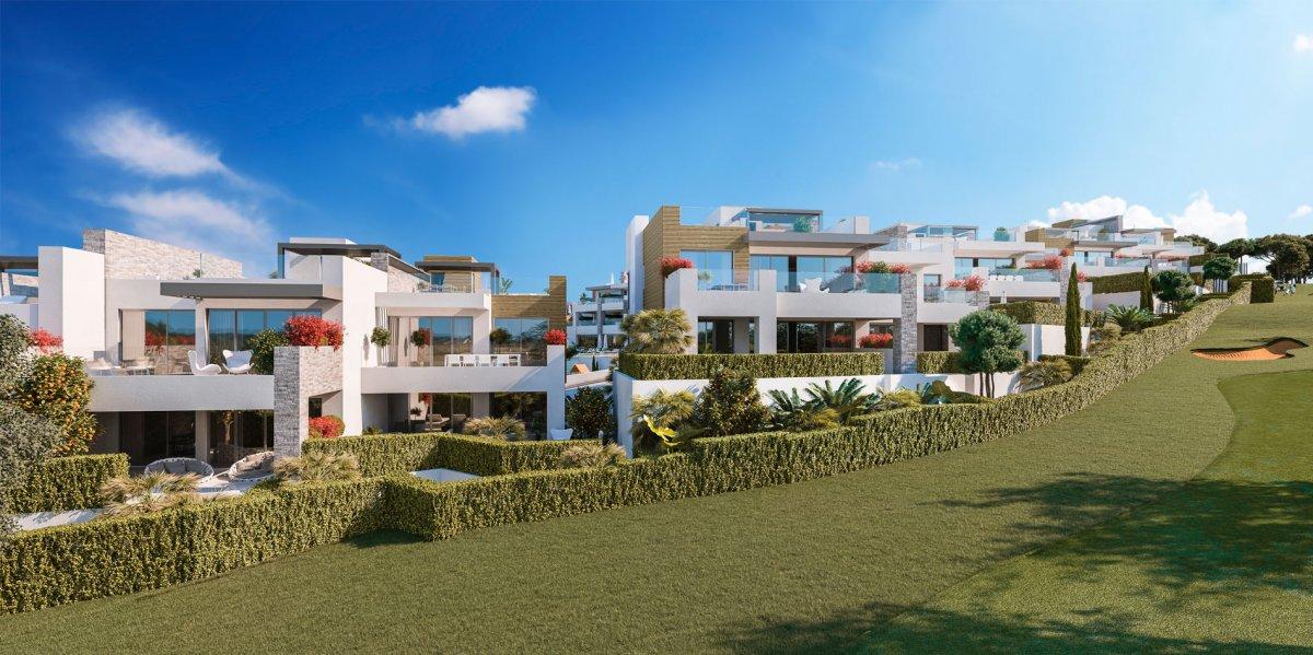 Sofisticado apartamento, con vistas al mar, primera linea de golf, Cabopino