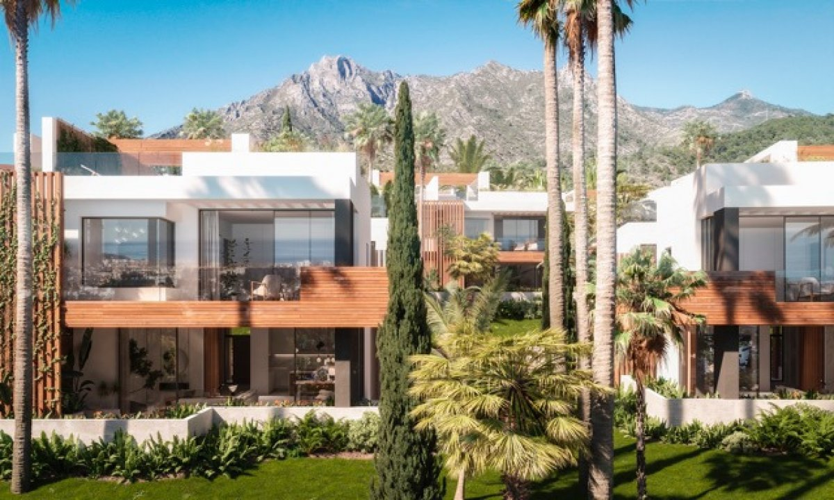Luxurious semi-detached house with in Sierra Blanca