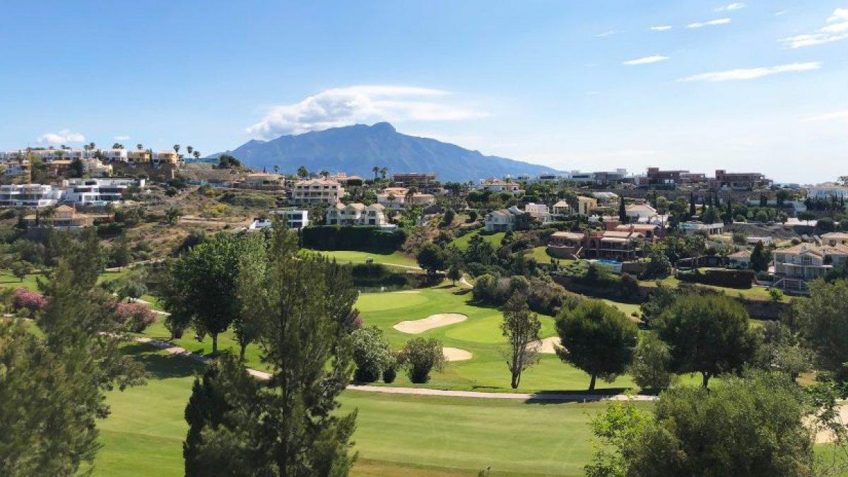 Modern villa with fully landscaped gardens in La Alqueria
