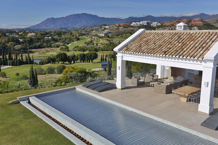 Moder luxury Villa with spectacular views Los Flamingos