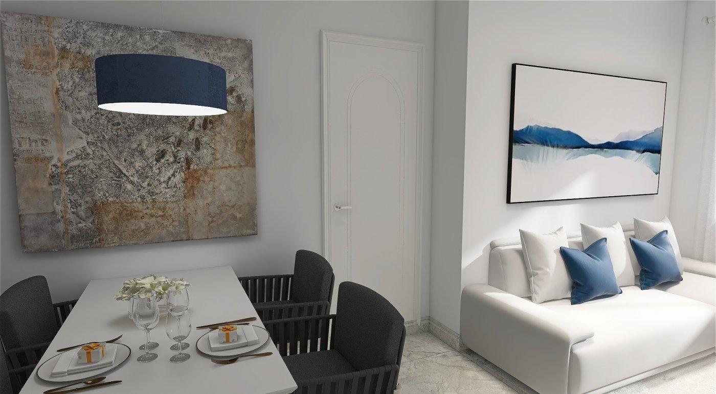 Piso de obra nueva en ronda de marrubial, con ascensor 2 habitaciones, baño + aseo y zonas - imagenInmueble0