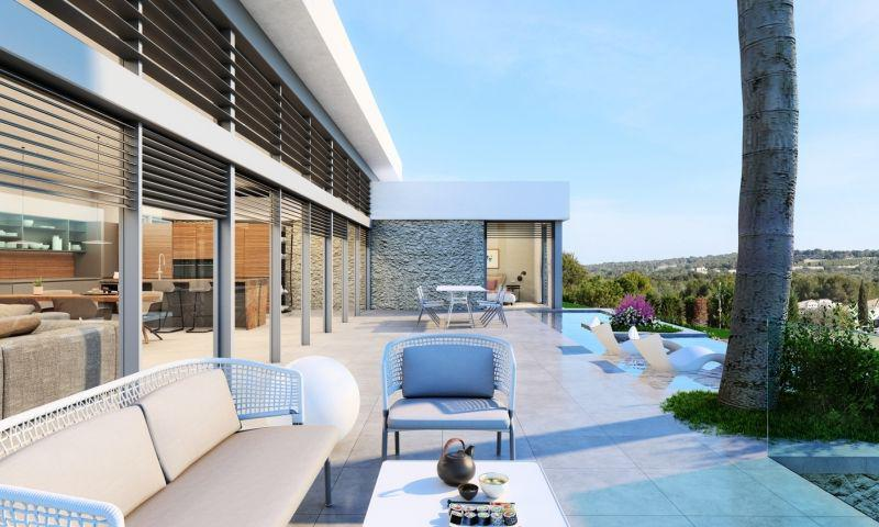 Villa de obra nueva en Las Colinas Golf