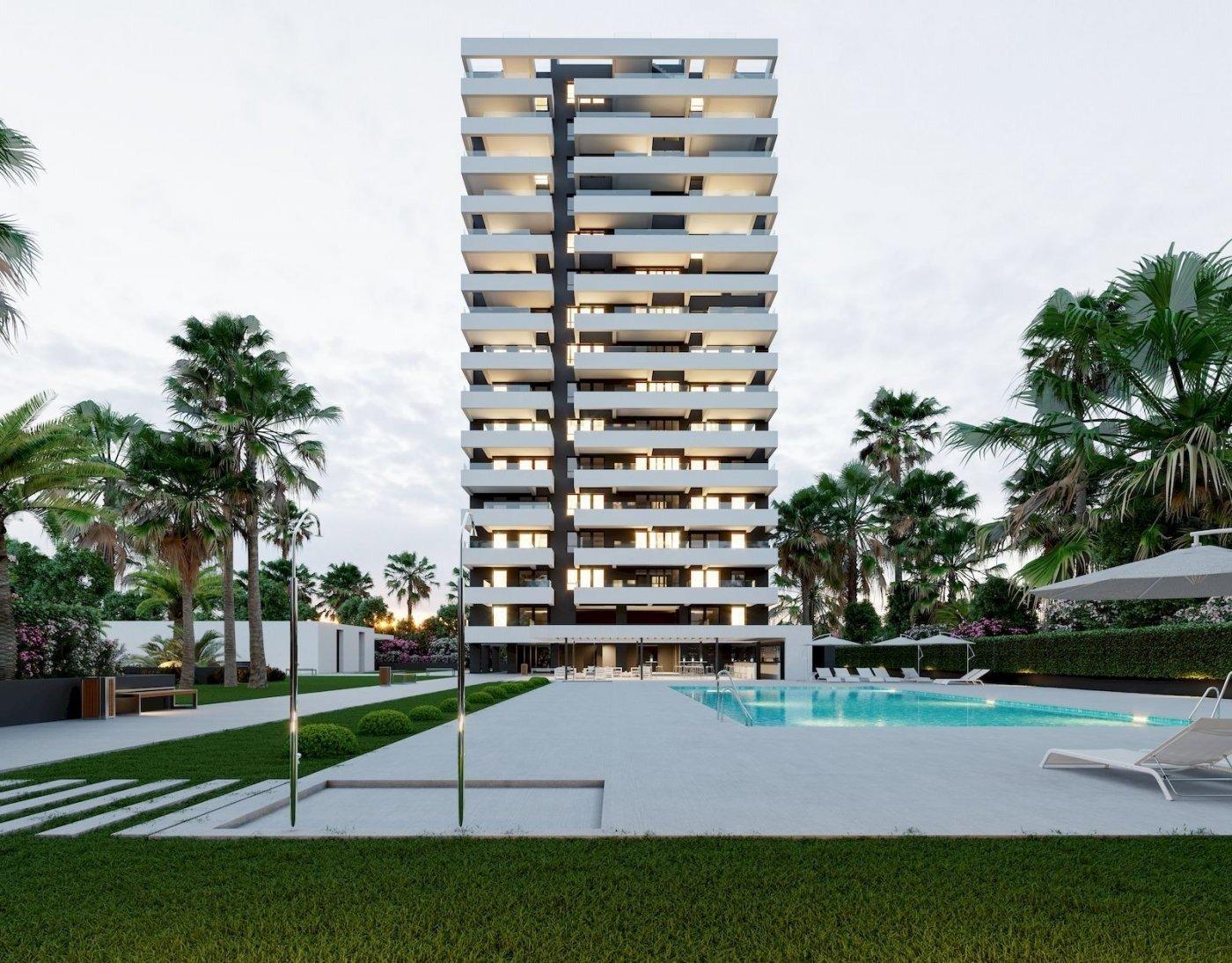 Apartamentos nuevos de 2 y 3 dormitorios en venta en Calpe
