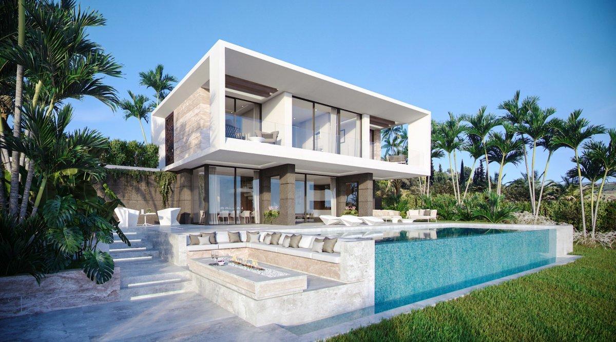Villa en venta en Nueva Milla de Oro - New Golden Mile, Estepona
