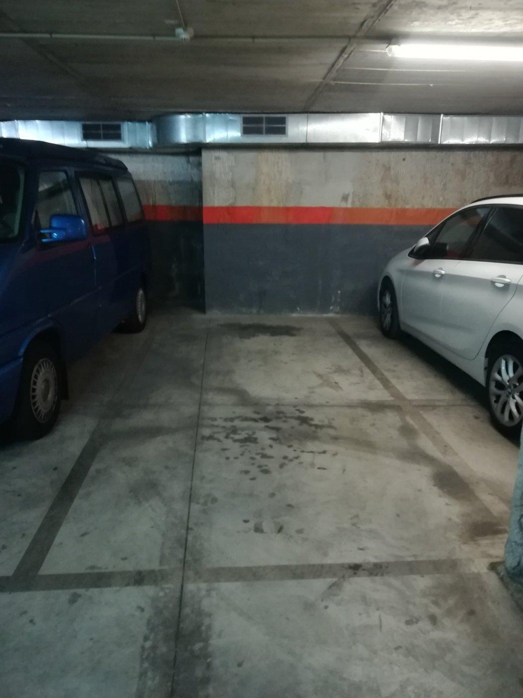 Plaza de parking en alquiler en Barcelona
