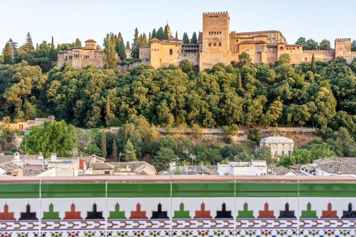 Gran casa con vistas a la alhambra