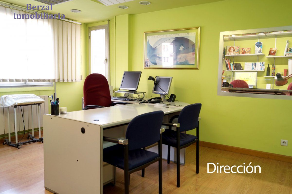 Oficina en alquiler en Centro Este, Logroño