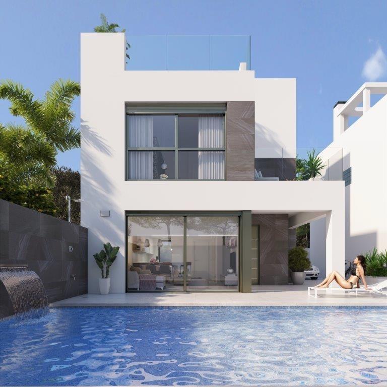 villa en orihuela-costa · punta-prima 449000€
