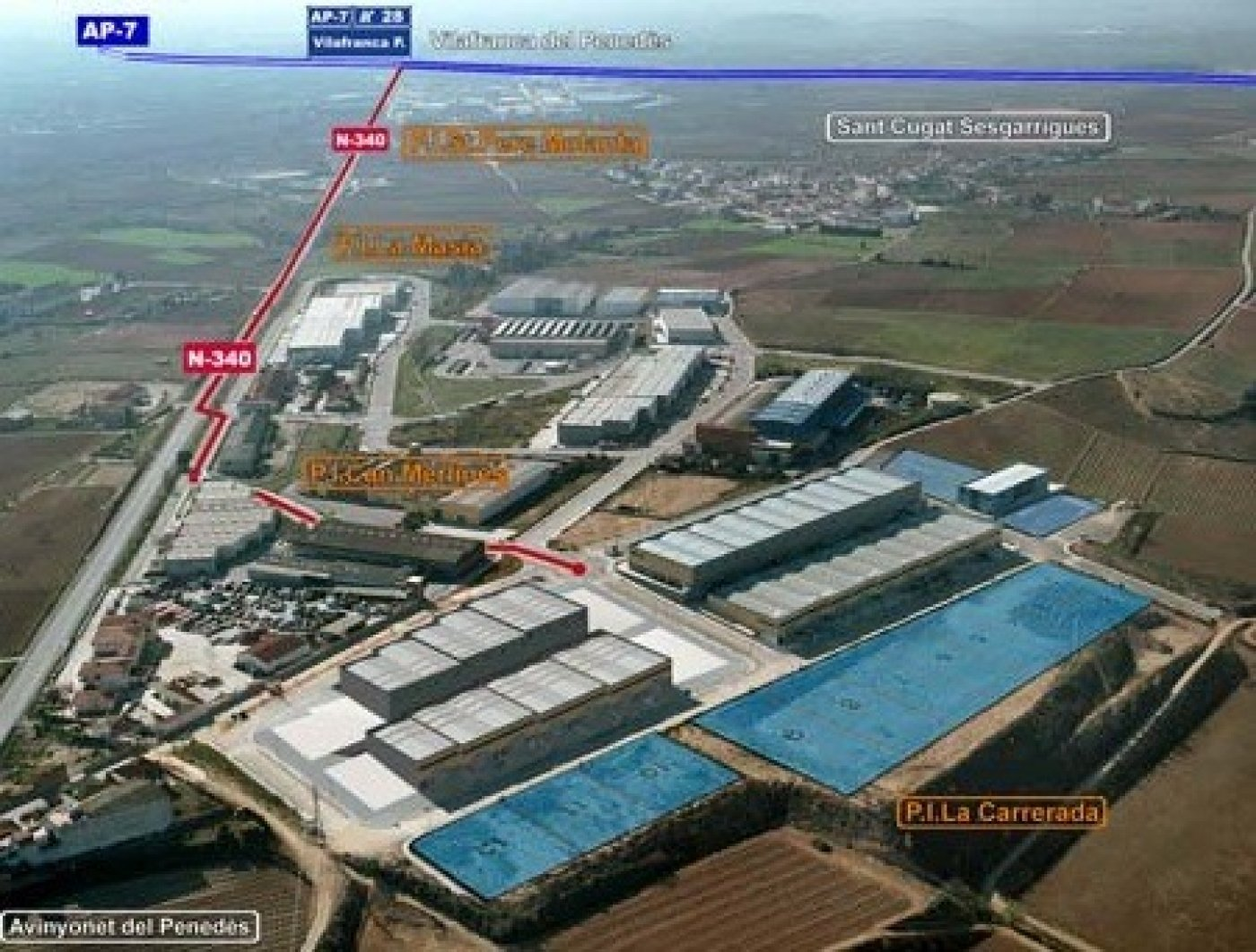 Naves industriales - a00909