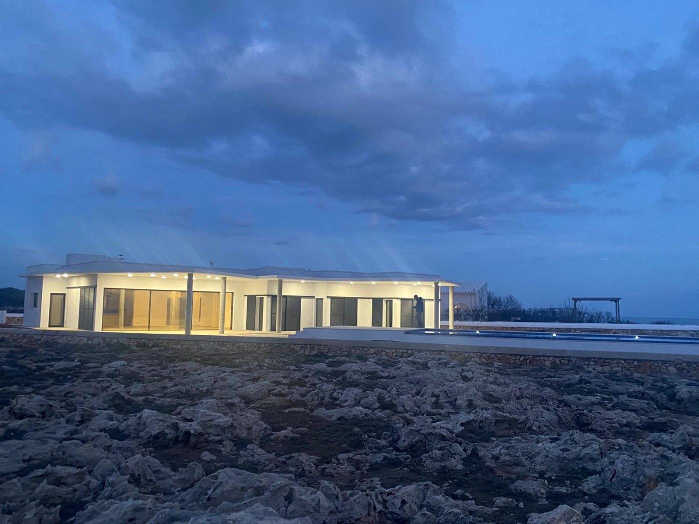 Fantástico chalet en primera línea de mar en sant lluis menorca - imagenInmueble0