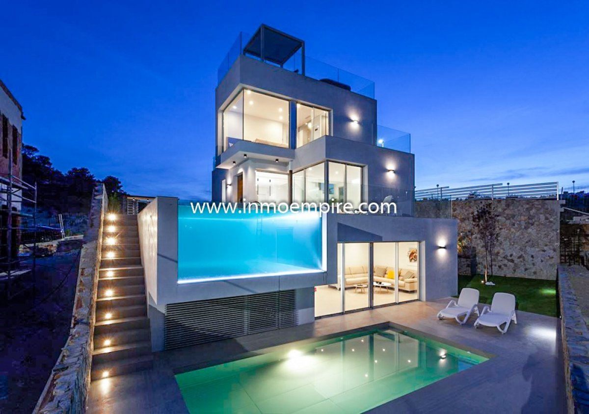 villa en finestrat · balcon-de-finestrat 475000€