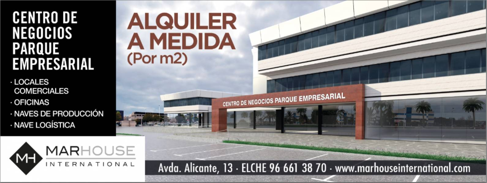 Office for rent in Elche Parque Empresarial, Elche