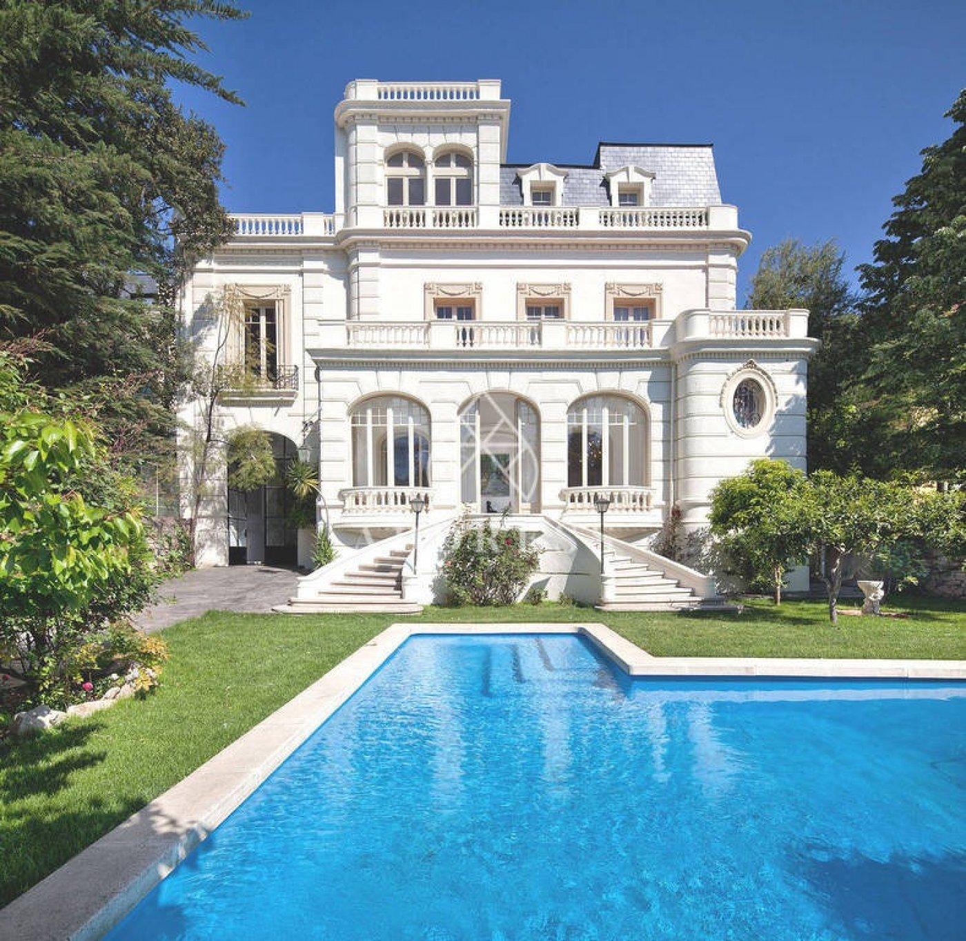villa-de-lujo en barcelona · pedralbes 14000000€