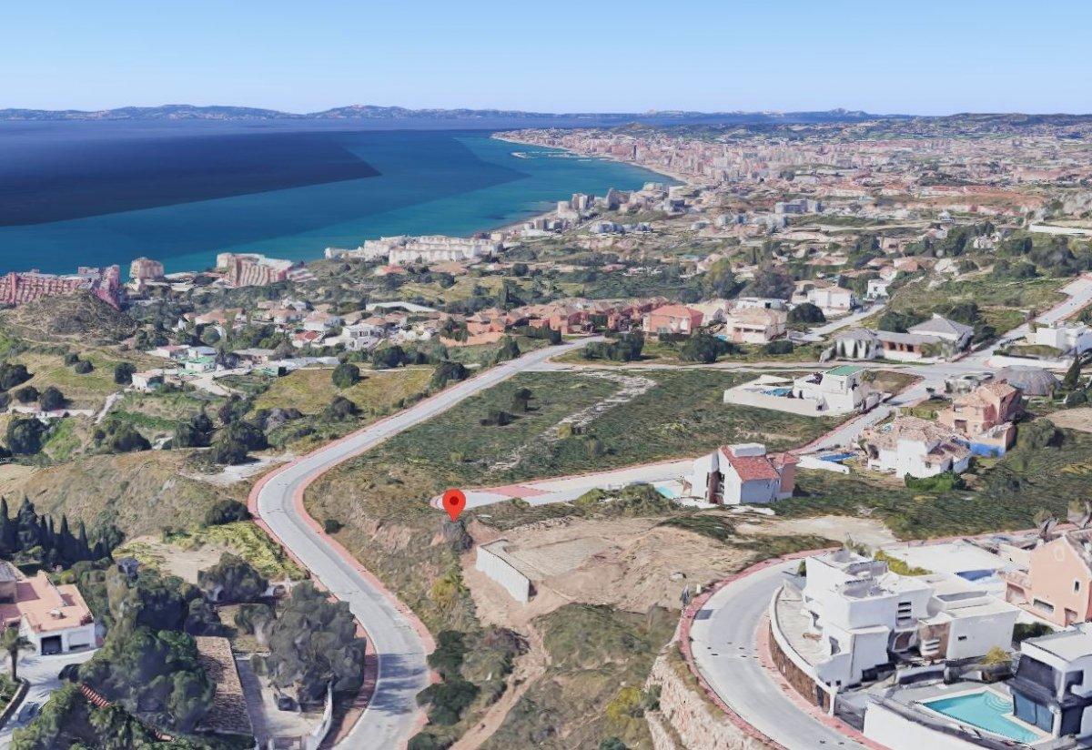 Se vende suelo urbano en la zona de la estupa con vistas  panoramicas al mar. - imagenInmueble12