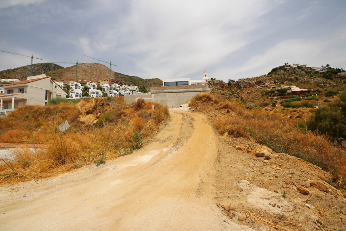 Se vende suelo urbano en la zona de la estupa con vistas  panoramicas al mar. - imagenInmueble6