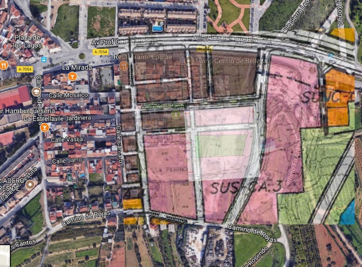 Suelo urbanizable en venta en campanillas perteneciente al area sus ca3 santa rosalia este - imagenInmueble0