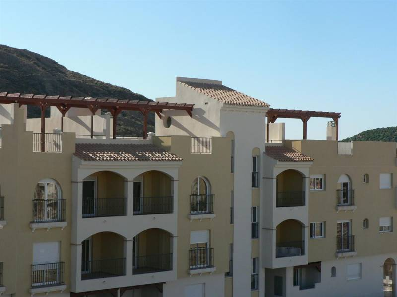 Mediterranean style buildings closet o the airport and the Mazarrón Beaches. - Keysol Property S.L.