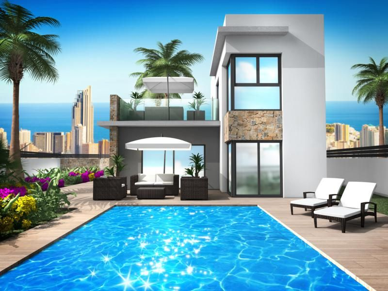 Three modern villas on large plots - Keysol Property S.L.