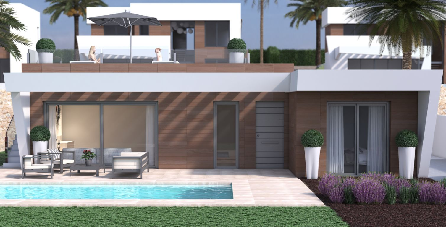 Luxury villas in a beautiful  area with private pool and beautiful views - Keysol Property S.L.