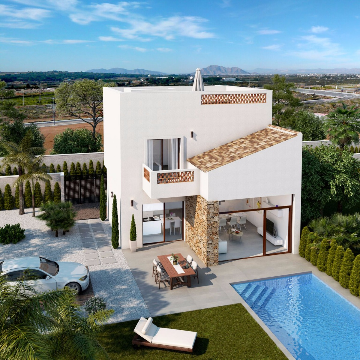 Independent villas in modern style surrounded by all services - Keysol Property S.L.