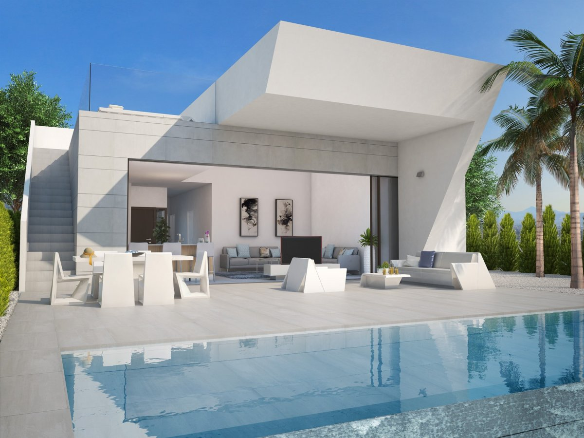 Detached villa with basement and pool within the plot. - Keysol Property S.L.