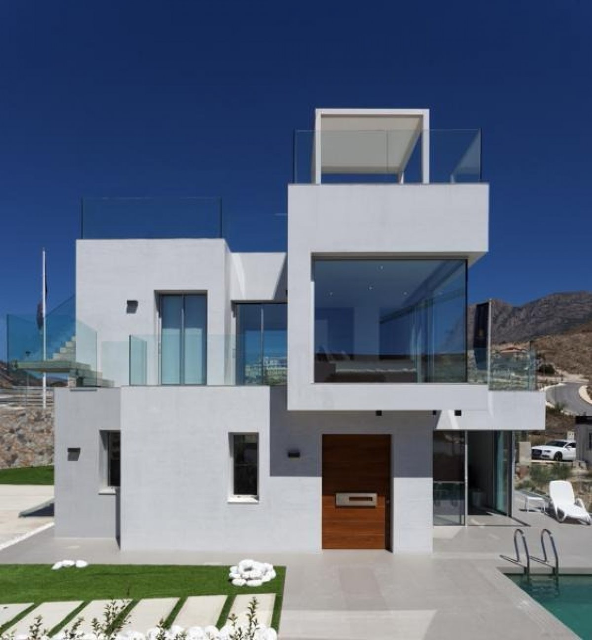 Modern villa with pool in the area of Finestrat. - Keysol Property S.L.