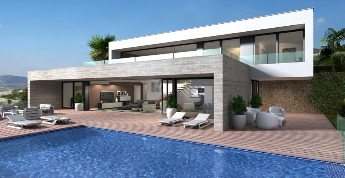 Luxury villa in a closed and exclusive residential complex in Cumbre del Sol - Keysol Property S.L.