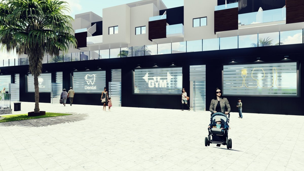 Residential complex composed of Maisonettes and shopping area - Keysol Property S.L.