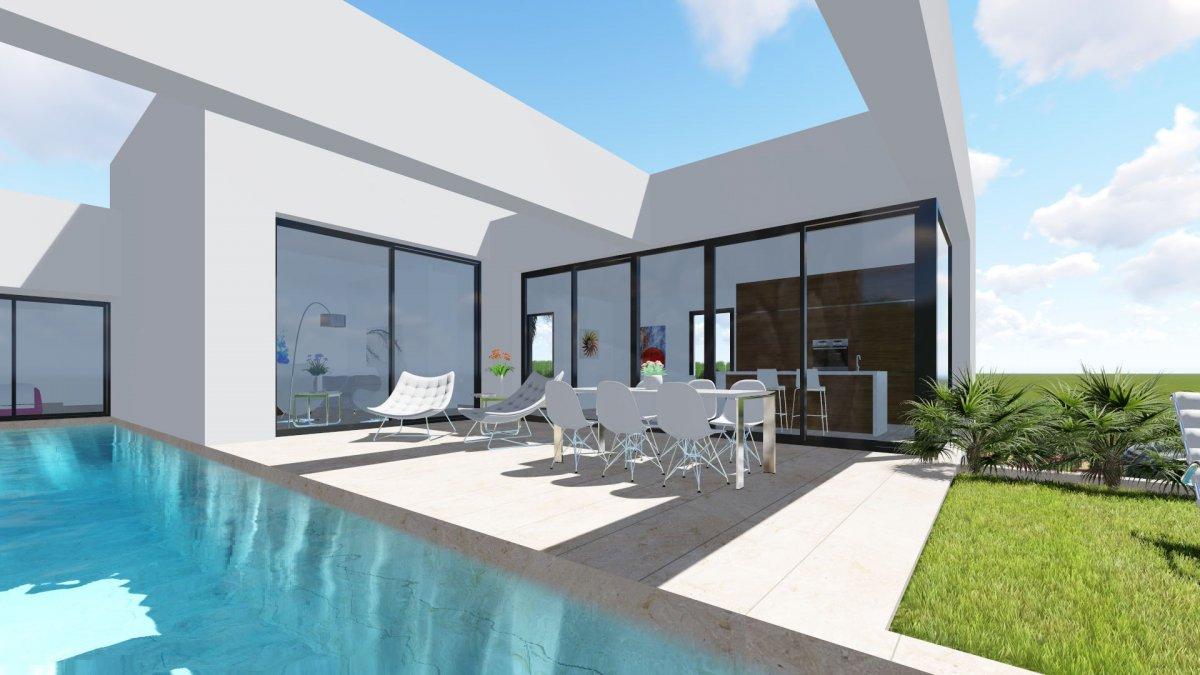Very bright villa with pool and basement in Benijófar. - Keysol Property S.L.