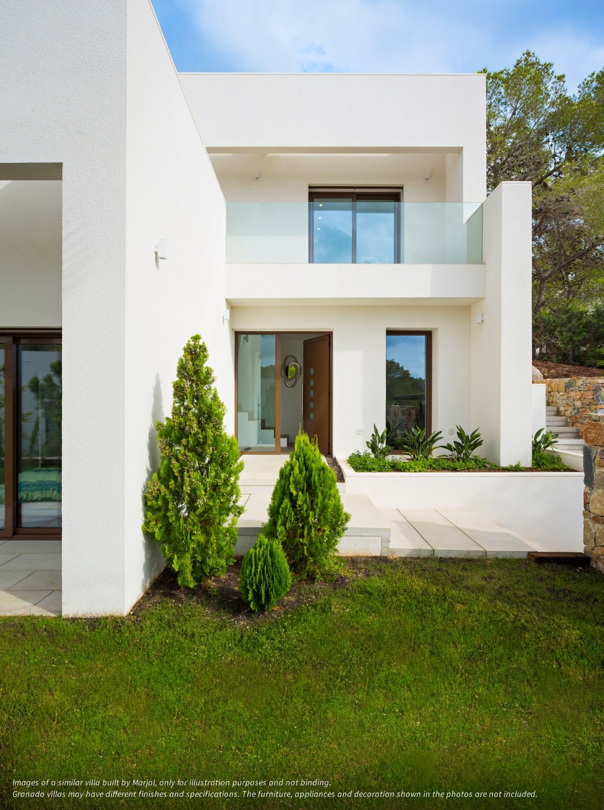 Modern detached villa next to golf course. - Keysol Property S.L.