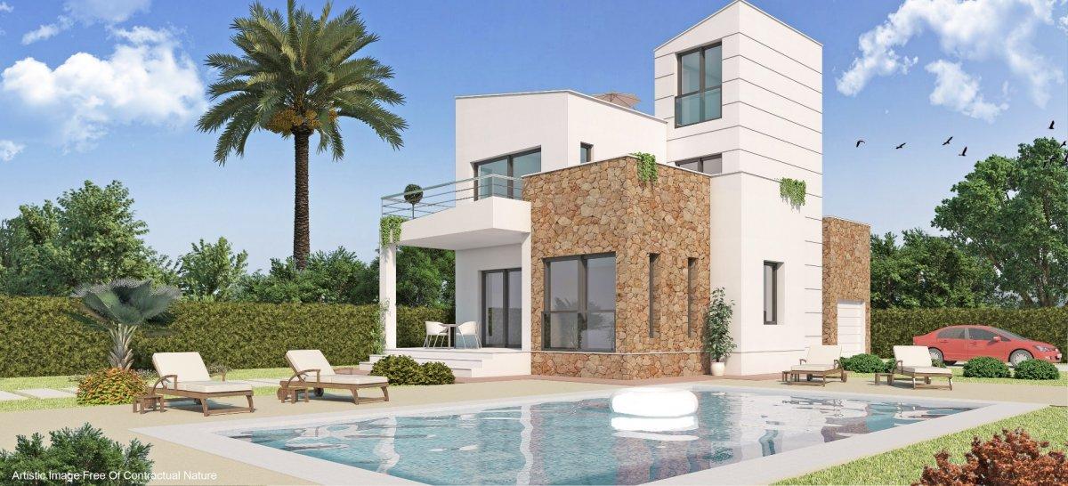 Villa independiente de estilo moderno con piscina y cercana al mar - Keysol Property S.L.