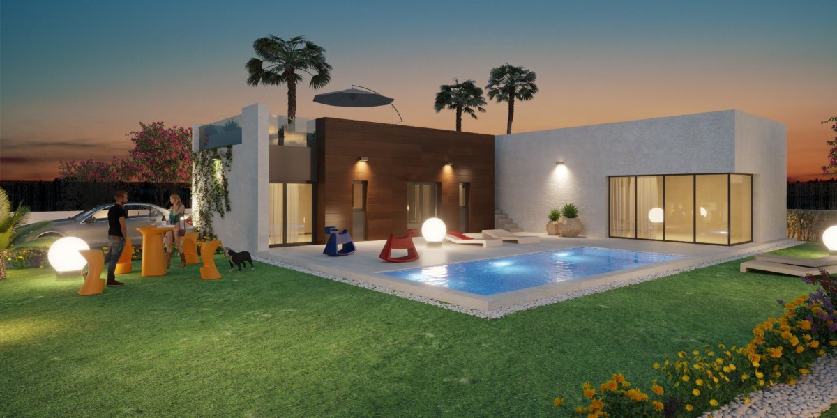 Villas independientes con vistas a campo de Golf. - Keysol Property S.L.