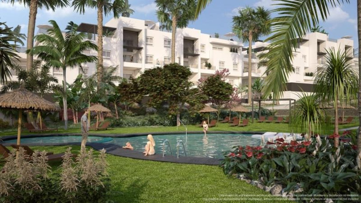 Apartments with communal pool in Punta Prima, Torrevieja - Keysol Property S.L.