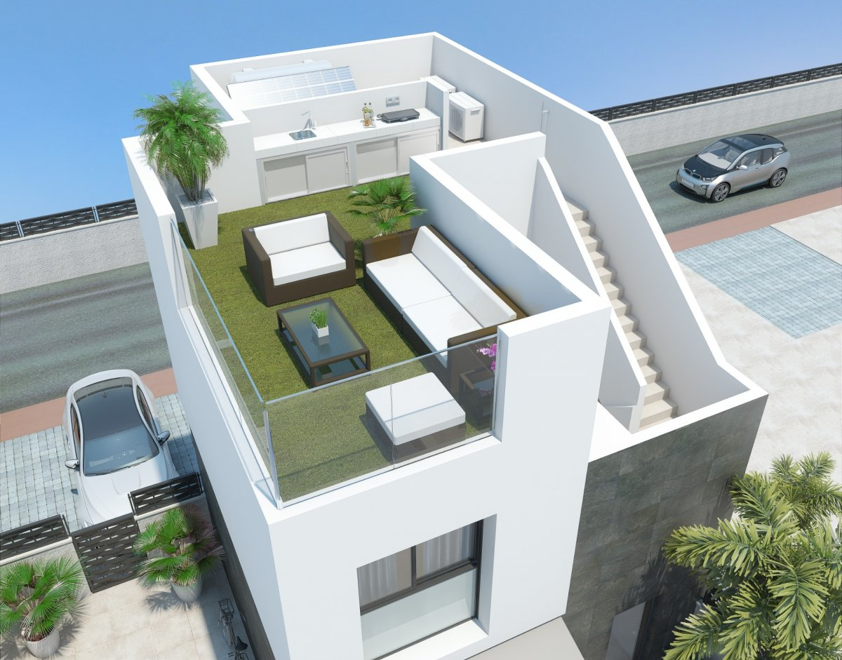 Luminous independent villa on two floors located in Benijófar. - Keysol Property S.L.