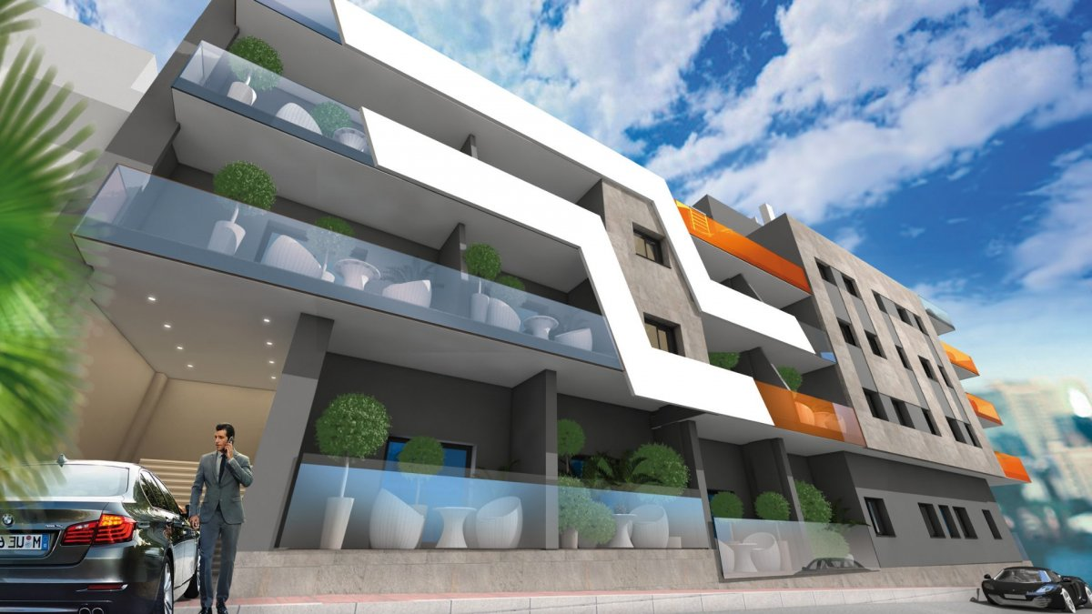 Luxury residential in the center of Torrevieja next to all services - Keysol Property S.L.