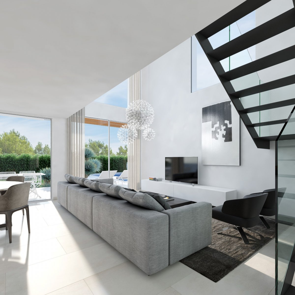 Villas independientes con piscina en Sierra Cortina, Finestrat - Keysol Property S.L.