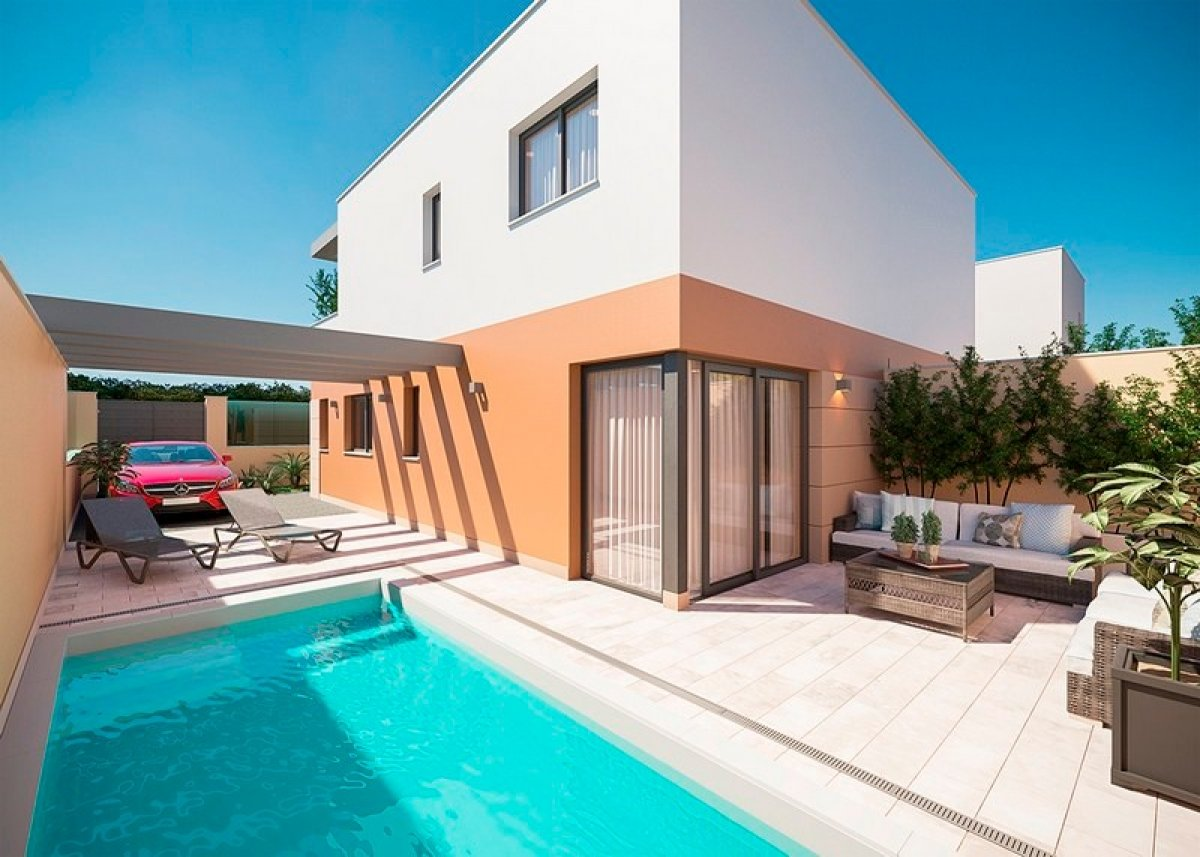 Townhouse with private pool in San Pedro del Pinatar - Keysol Property S.L.