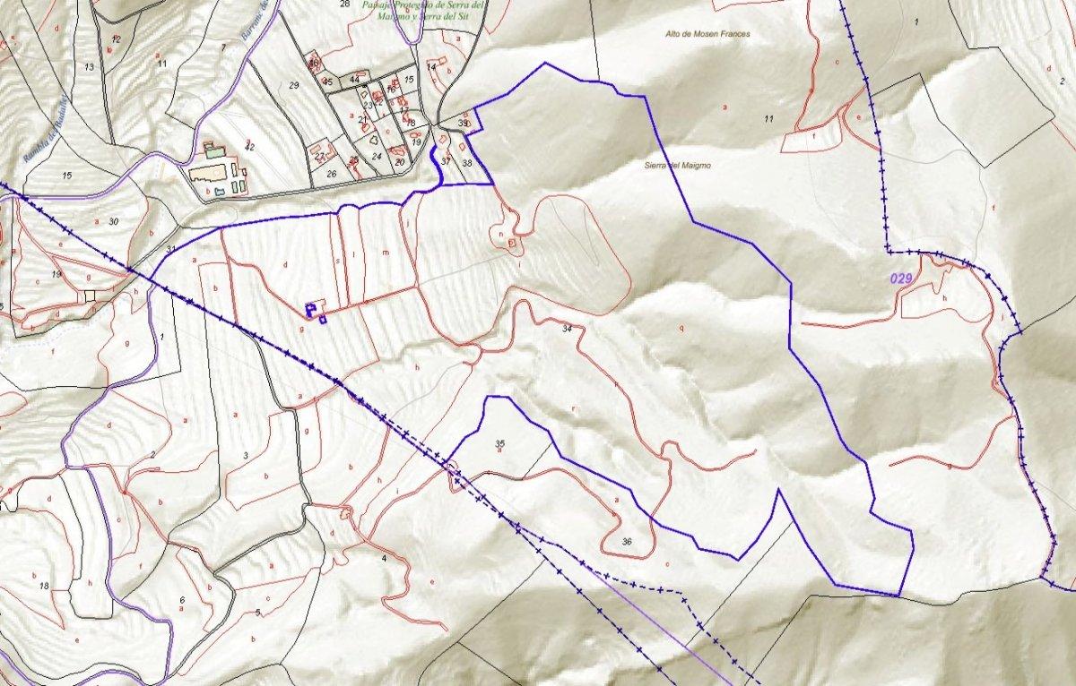 Terrenos rurales - 1343