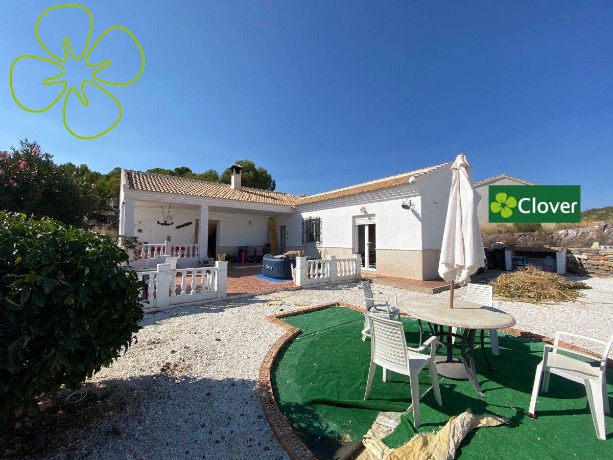 Ref:00940-6080 Villa For Sale in Arboleas